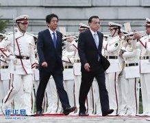 李克强同日本首相安倍晋